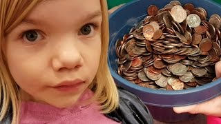 Coinstar cash in Bucket of coins, how much will it be?