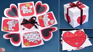 Valentine Special !! LOVE Greeting Card || DIY || Valentines Day Gift Idea