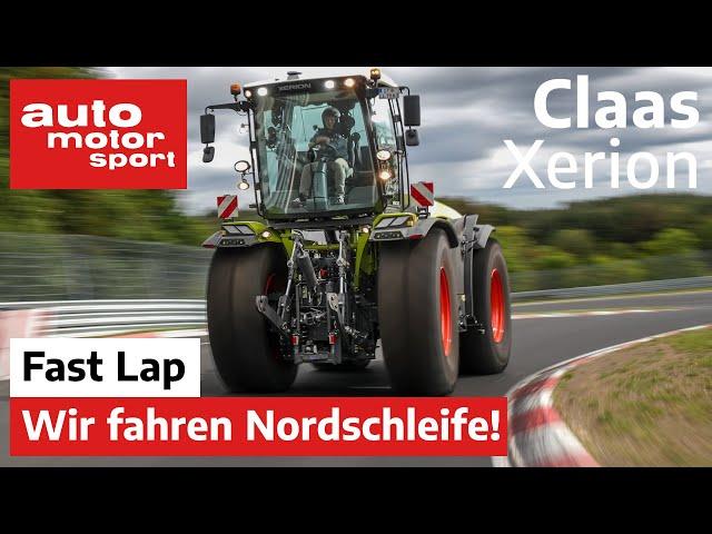 Трактор Claas Xerion установил рекорд трассы Нюрбургринг