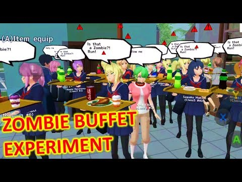 [School Girls Simulator] THE ZOMBIE BUFFET EXPERIMENT