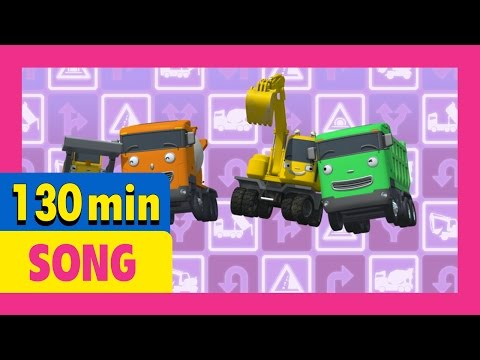 [Tayo's Sing Along Show] Season 1&2 All Compilation l 130 mins l Tayo the Little Bus