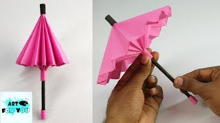 How To Make A Paper Umbrella ☂️ | Umbrella That Open And Close | DIY Paper Umbrella