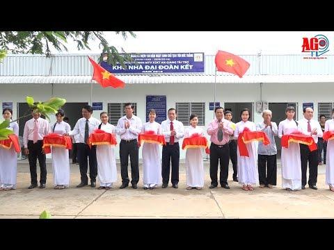 Khánh thành khu nhà Đại đoàn kết xã Mỹ Hòa Hưng