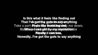 All Time Low- Guts (lyrics Video)