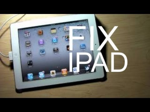 HOW TO FIX IPAD CHARGING PROBLEM USB PORT CHARGE – APPLE IPAD 1,2,3 & MINI