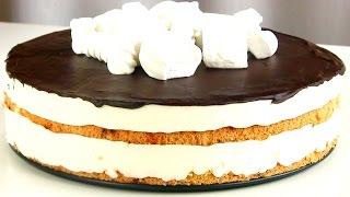 """Торт """"Птичье молоко""""  из белков / Самый вкусный Простой рецепт"""