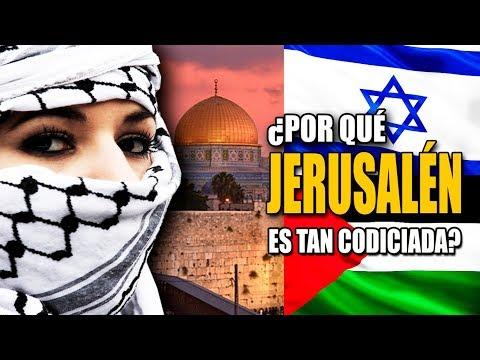 ¿Por qué JERUSALEN es tan disputada? TODA LA HISTORIA DE JERUSALEN EN 8 MINUTOS - DOCUMENTAL