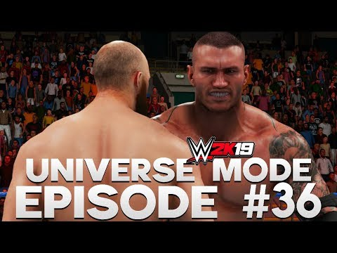 WWE 2K19 | Universe Mode - 'WHO IS THIS GUY?!' | #36
