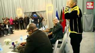 Taboo des Black Eyed Peas - conférence de presse au Sofitel Marrakech avec HIT RADIO - 12/03/2012