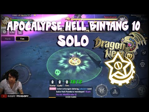 Apocalypse HELL Bintang 10 SOLO !!! Dragon nest M - Shooting