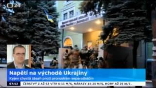 Zpravodaj Pazderka obviňuje občany Ukrajiny a Ruskou federaci....