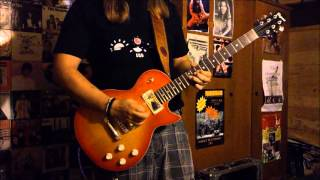 Dio - one night in a city guitar cover + impro