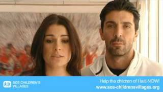preview picture of video 'Haiti earthquake: Appeal of Gigi Buffon & Alena Seredova'