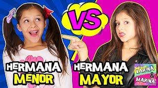🌈 ¡¡HERMANA MAYOR VS HERMANA PEQUEÑA!! POR UN DÍA 🎀 ¡¡EXPECTATIVA Vs REALIDAD De Tener HERMANOS!!