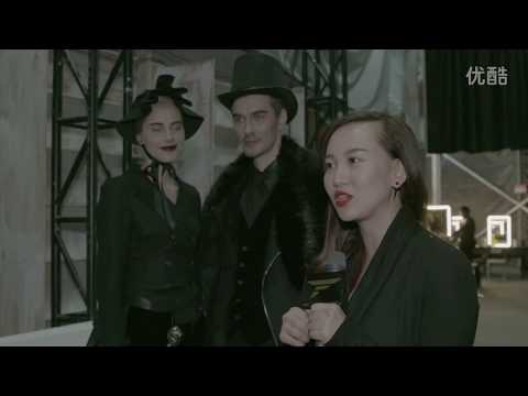 The panoramic of Kelly Bui's Show at Shanghai Fashion Week A/W 2015/2016
