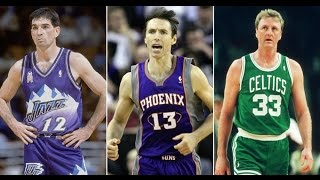 Top 10 Greatest White Players In NBA History