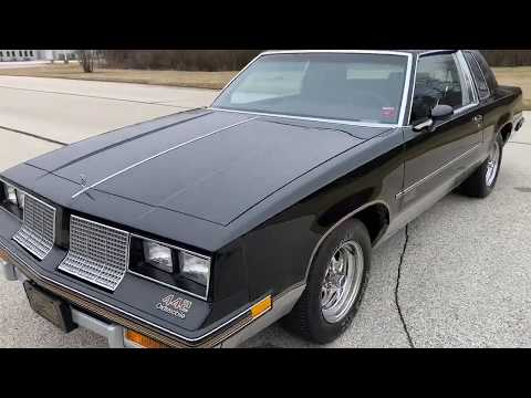 1985 Oldsmobile Cutlass Salon 442 in Big Bend, Wisconsin - Video 1