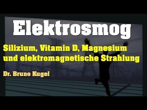 ELEKTROSMOG - Silizium, Vitamin D, Calcium, Magnesium u. elektromagnetische Belastung (+VERLOSUNG!)