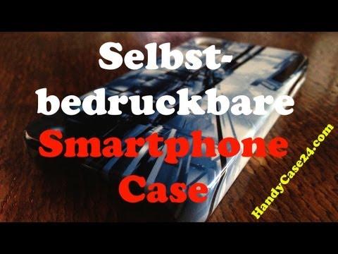 """Smartphonecase mit """"Um-die-Ecke-Druck"""" für iPhone, Blackberry, Samsung & HTC von HandyCover24.com"""