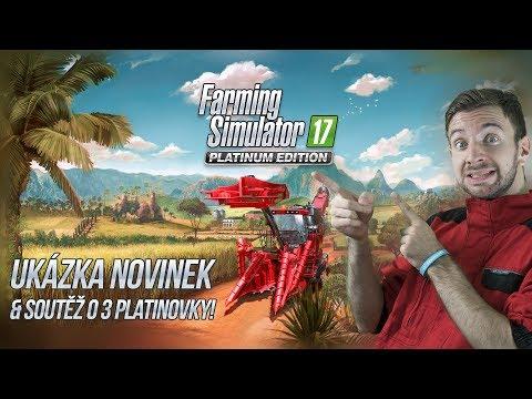 PLATINOVÁ EDICE & SOUTĚŽ! | Farming Simulator 17