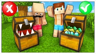 NON APRIRE LA CASSA SBAGLIATA! - Minecraft ITA