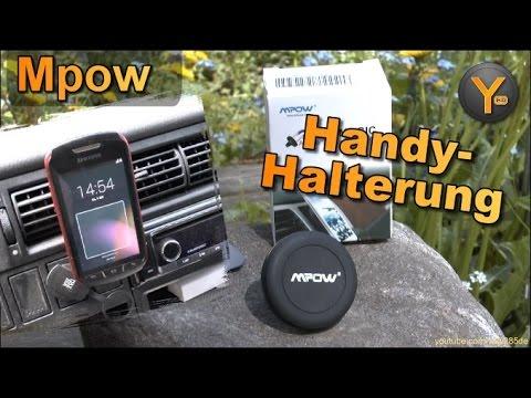 Kurztest: Mpow Handy-Halterung für Lüftungs-Gitter im Auto / Armaturenbrett Halterung mit Magnet