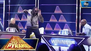 Snoop Dogg Dances To The Winner's Circle - $100K Pyramid