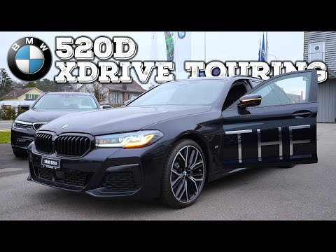 BMW 5 Series 520d Touring 2021