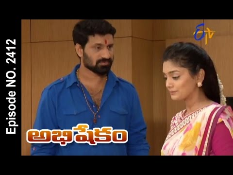 Abhishekam |11th October 2016 | Full Episode No 2412 | ETV Telugu
