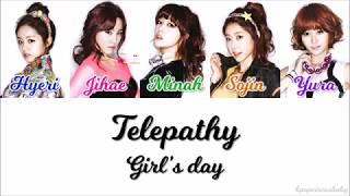 Girl's Day - Telepathy
