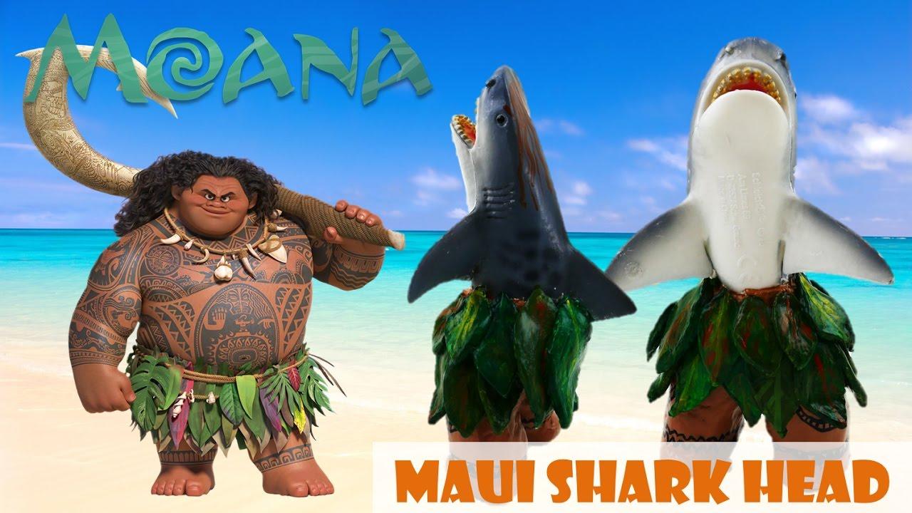 Disney Moana Movie Maui Doll Half Shark Custom | Evies Toy House