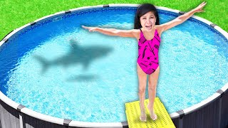 DUNK TANK into SCARY MYSTERY WATER!