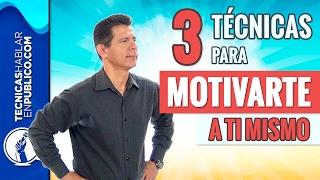 Motivación y Automotivación | Cómo Motivarse Uno Mismo o a una Persona en el Trabajo o Vida Personal