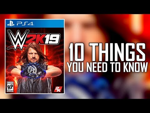 WWE 2K19 NEWS - 10 THINGS YOU NEED TO KNOW! (Cover, New Mode, Win A Million & More)