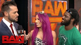 Sasha Banks and Rich Swann are ready to dance at Extreme Rules: Exclusive, May 29, 2017