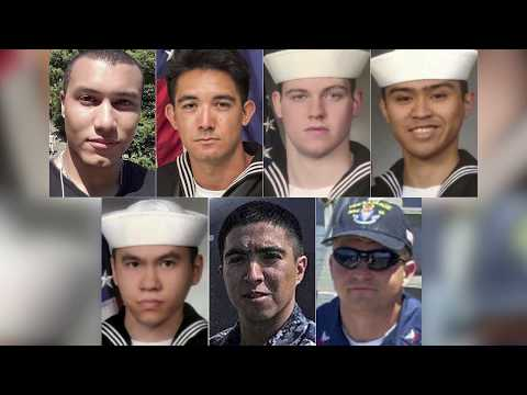 The agonizing choice USS Fitzgerald sailors had to make