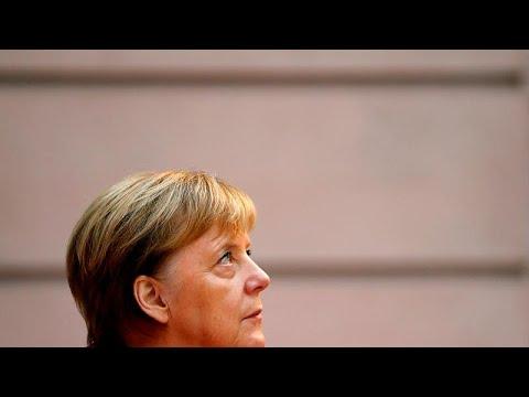 Η Μέρκελ παρουσιάζει το όραμά της στο Ευρωκοινοβούλιο