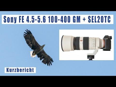 Sony Telezoom FE 4.5-5.6/100-400 GM + SEL20TC 2-fach Konverter Kurzbericht deutsch SEL100400GM
