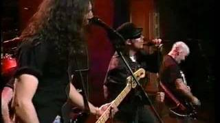 "Anthrax on Conan O'Brien ""Nothing"" 1995"