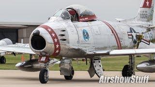 Jet Warbird Arrivals - TBM Avenger Gathering 2018