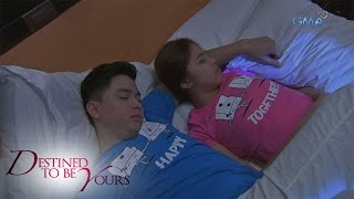 Destined To Be Yours: Sleep tight, Sinag and Benjie
