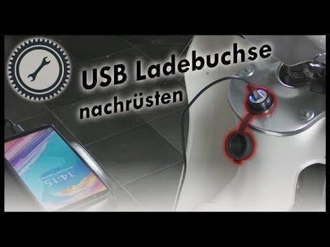 USB Ladebuchse an eurer Simson nachrüsten
