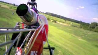 preview picture of video 'GMSIZIANO Elicottero Lama a turbina di Fabio. (Siziano 12 Settembre 2009)'