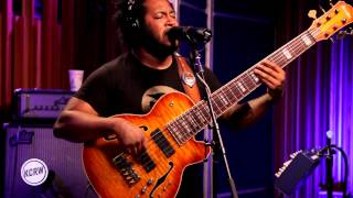 "Thundercat performing ""Them Changes"" Live on KCRW"