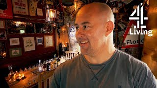 Man Builds Rustic Whiskey Bar In His Shed | Amazing Spaces Shed Of The Year