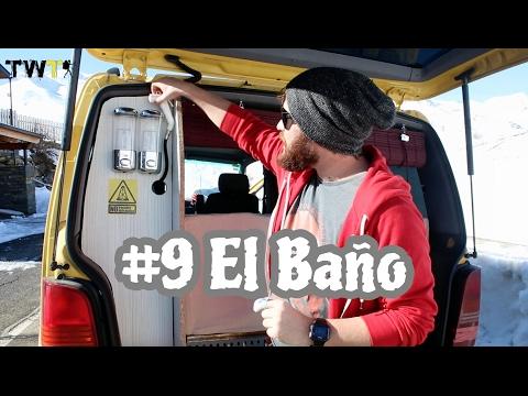 Vantrip #9 ¿como hacer un baño completo en tu furgoneta? Vito w638