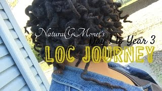 My 3 Year Loc Transition