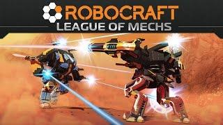 ROBOCRAFT - Mechs, Direwolfs, and Codes, oh my! - Most