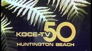 KOCE-TV Sign Off 1981