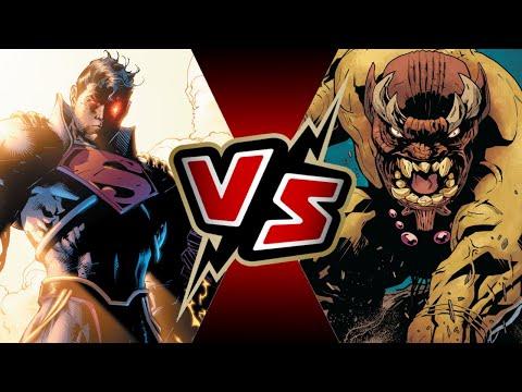 Superboy Prime VS Mangog | BATTLE ARENA